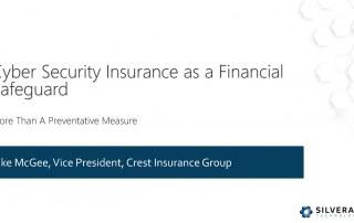 Webinar: Cyber Security Insurance