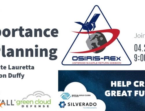 Webinar: OSIRIS REx Mission Planning