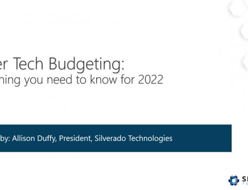 Webinar: Better Tech Budgeting